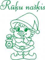 Rūķu našķis logo